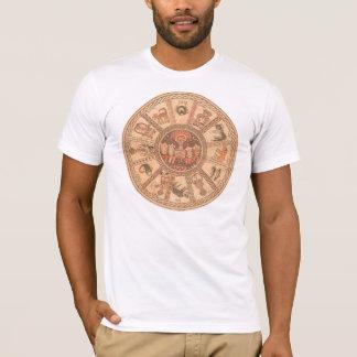 Roue hébreue israélienne de zodiaque t-shirt