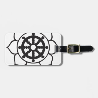 Roue Lotus de Dharma Étiquettes Bagages