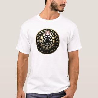 Roue noire de Sun T-shirt