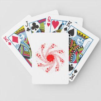 Roue rouge de Pin Cartes À Jouer