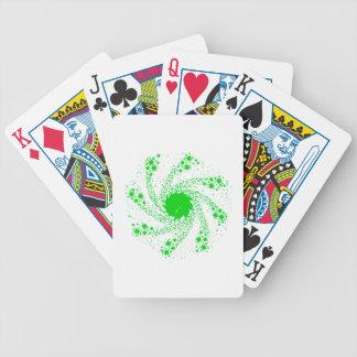 Roue verte de Pin Cartes À Jouer
