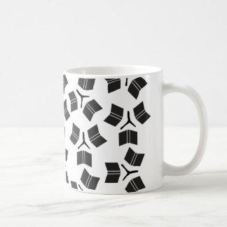 Roues de livre mug