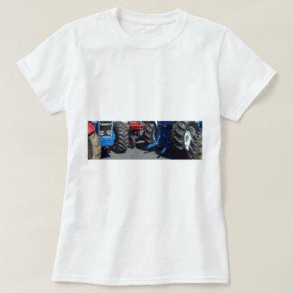 Roues de tracteur t-shirt