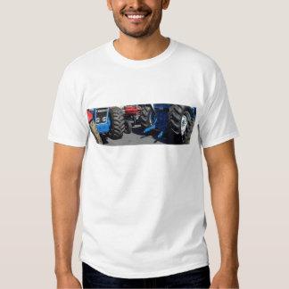 Roues de tracteur t-shirts