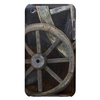 Roues rustiques sur le décor de film, Cuba Coque iPod Touch