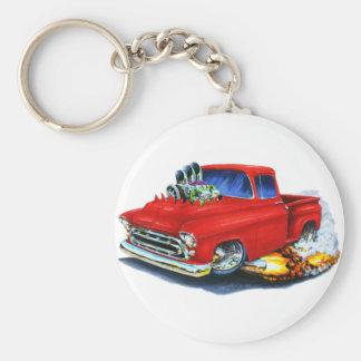Rouge 1957 de collecte de Chevy Porte-clés