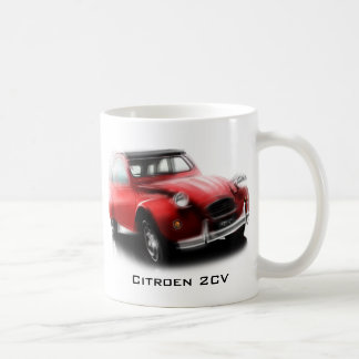 rouge 2CV Tasses