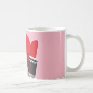 Rouge à lèvres de tasse de café