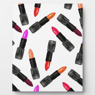 Rouge à lèvres pendant des JOURS Plaque Photo