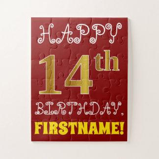 Rouge, anniversaire d'or de Faux 14ème + Puzzle