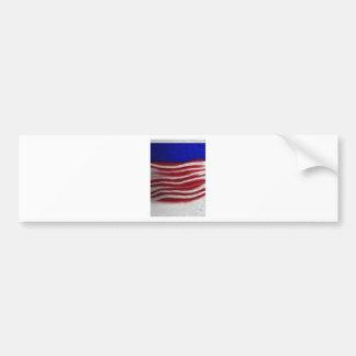 Rouge/blanc/bleu Autocollants Pour Voiture