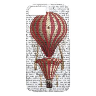 Rouge chaud à gradins d'impression de ballon à air coque iPhone 7