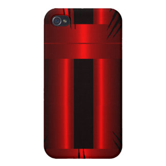 Rouge Coque iPhone 4 Et 4S