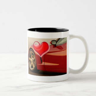 Rouge Corvette de Valentine Tasse
