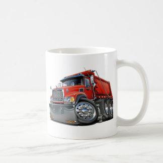 Rouge de camion à benne basculante de Mack Mug