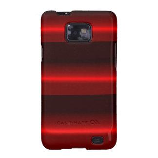 Rouge de cas de Samsung Galaxys