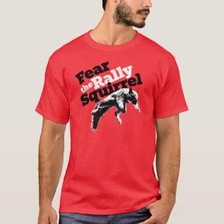 Rouge de chemise d'écureuil de rassemblement t-shirt