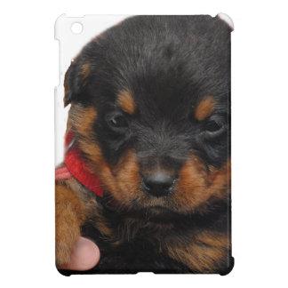 Rouge de chiot de rottweiler coque iPad mini
