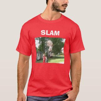 Rouge de CLAQUEMENT T-shirt