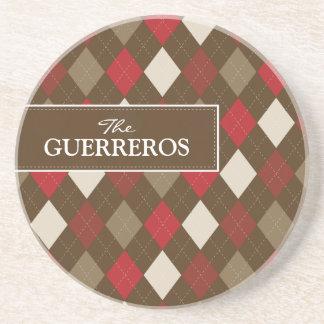 Rouge de Guerreros/dessous de verre de chocolat Dessous De Verres