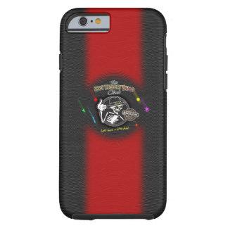 Rouge de ligne du parti d'os coque tough iPhone 6
