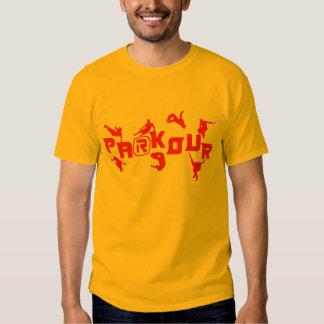 Rouge de Parkour T-shirts