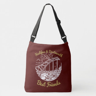 Rouge de sac de meilleurs amis de Halifax