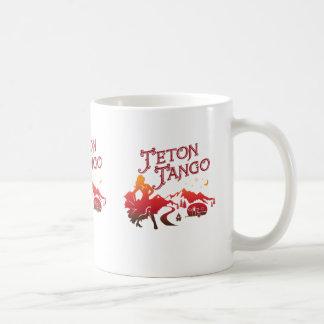 Rouge de tasse de tango de Teton
