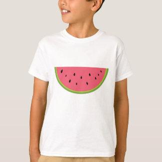 Rouge doux de santé de fruit de pastèque de t-shirt