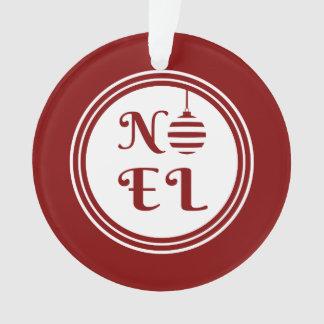 Rouge et blanc de vacances de Joyeux Noël de NOEL
