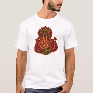 Rouge et or Ganesh T-shirt