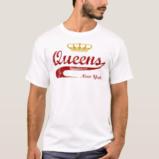 Rouge et or - Queens, New York City NYC T-shirt