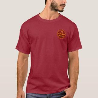 Rouge foncé romain de légion de SPQR et chemise de T-shirt