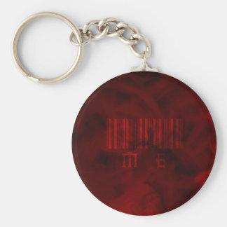 Rouge JE porte - clé Porte-clé Rond