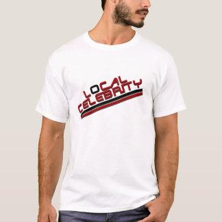 Rouge local de célébrité t-shirt