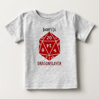 Rouge meurent l'habillement impressionnant de geek t-shirt pour bébé