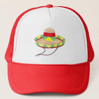 Rouge mexicain de Cinco De Mayo de casquette de