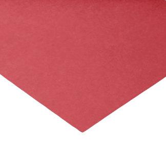 Rouge moyen de Noël de papier de soie de soie