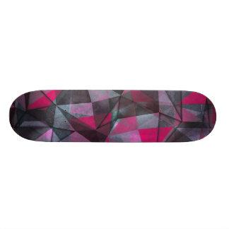 rouge noir de planche à roulettes plateau de planche à roulettes