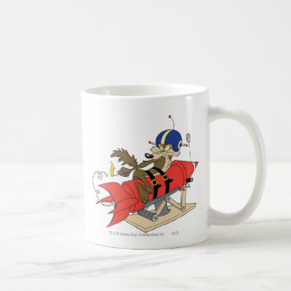 Rouge Rocket d E Coyote Launching de Wile Tasse