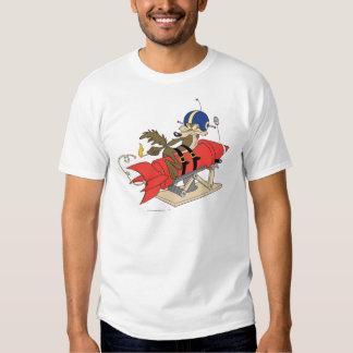Rouge Rocket d'E. Coyote Launching de Wile T-shirts