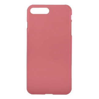 Rouge rouge personnalisable moderne coque iPhone 7 plus