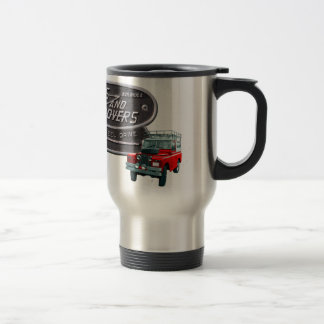 Rouge Rover d armes à feu et de vagabonds Mug À Café