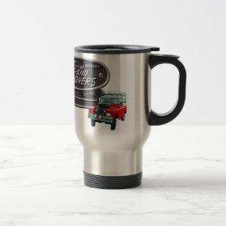 Rouge Rover d'armes à feu et de vagabonds Mug À Café