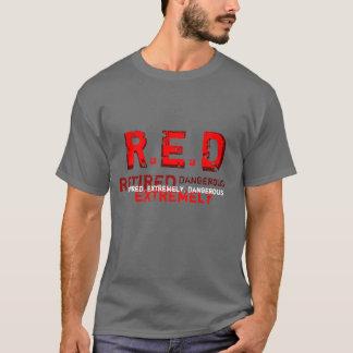 ROUGE - T-shirt retiré et extrêmement dangereux