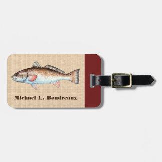 Rougets communs (accent de Bordeaux 1) Étiquettes Bagages