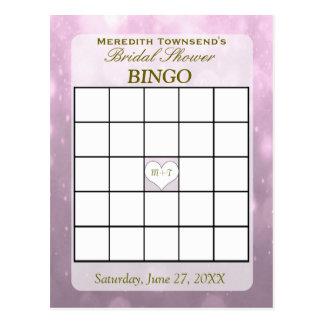 Rougissent la carte de bingo-test de Bokeh |