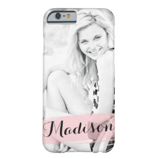 Rougissent la photo faite sur commande d'aquarelle coque iPhone 6 barely there