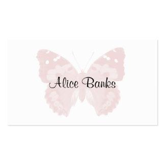 Rougissent les cartes de visite roses de maquilleu modèles de cartes de visite