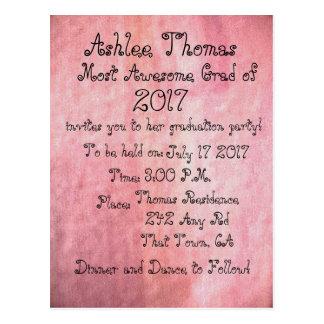 Rougissent les invitations faites sur commande